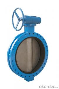 DUCTILE IRON BUTTERFLY VALVE DN1600
