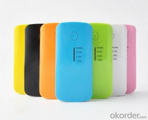 power bank 5600mah with 4 led indicator