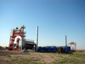 Asphalt&bitumen batching plant LB2000 with capacity 160t/h, bitumen plant in Canada