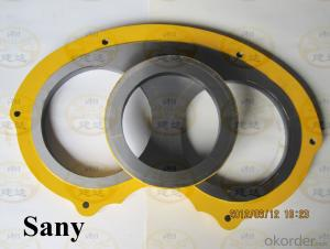 DN200 Spectacle Plate for SANY Concrete Pump