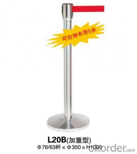 L20B Stainless Steel Stanchion Tubular Steel Railing