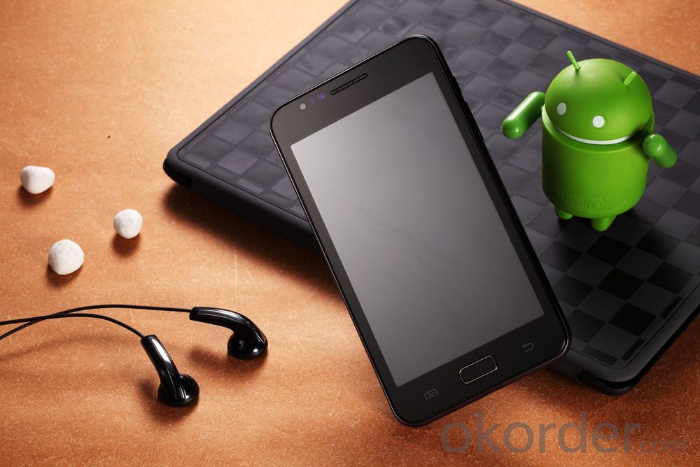 New 5.0 Inch Capacitive Touch Screen, Dual SIM 5.0+0.3MP Camera