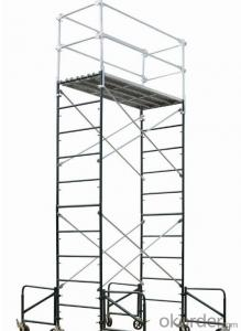 Mobile scaffolding Tower system