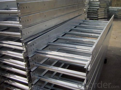 Ladder pre-galvanized cable tray