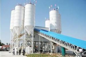 FANGYUAN Lifting Hopper Concrete Mixing Plant HZS120D