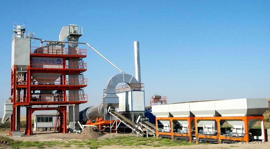 Asphalt Mixing Plant LB1500 with capacity 120t/h