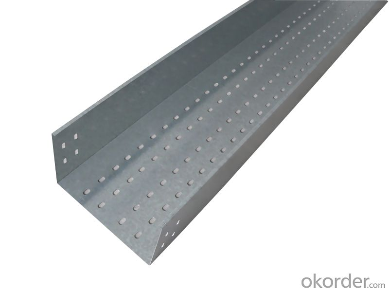 Pallet galvanized cable tray