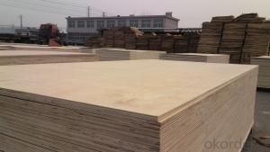 Pine Wood Veneer Face Plywood Thick Board