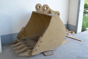 casting excavator bucket (not teeth )
