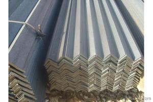 high qualigy hot rolled Q235 steel angle bar