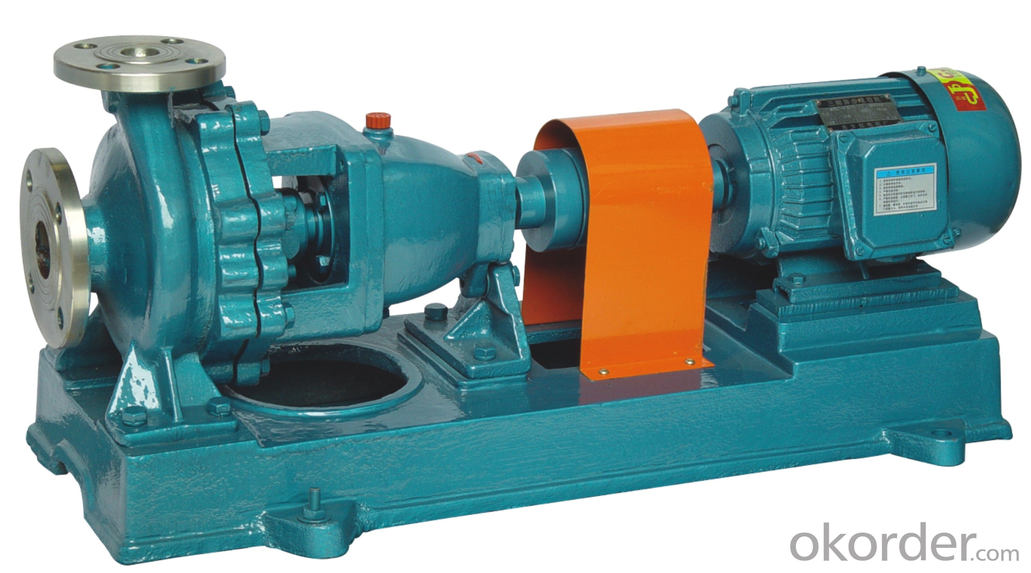 Single Stage Single Suction Chemical Cantilever Centrifugal Pump