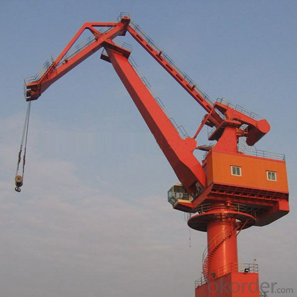 Beautiful Performance Portal Crane With Grab Bucket