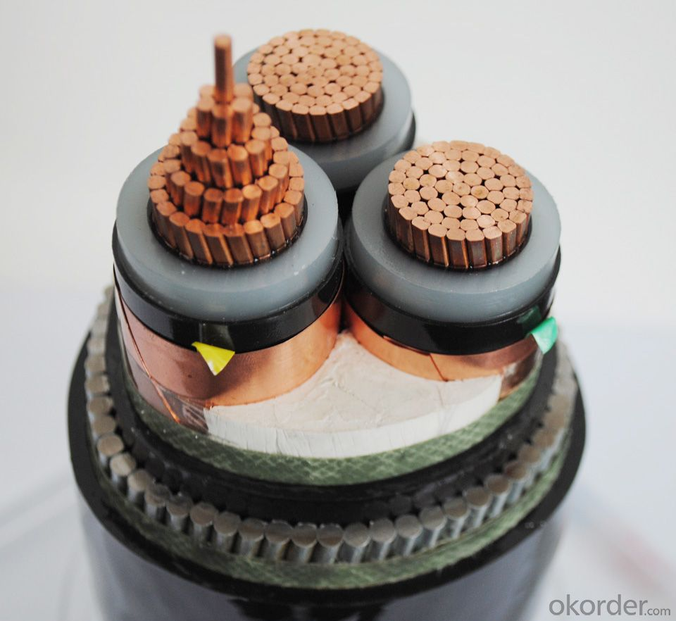 XLPE insulated and PVC sheathed MV Power Cable up to 35kV