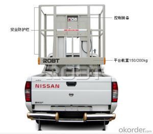 Vehicle-mounted Mast platform