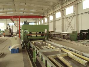 FRP & PU Sandwich Panel Lamination Line, Working Machine