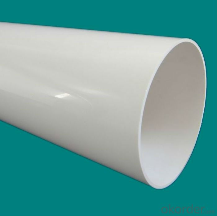Water Pipe with Easy Storage and Transportation and Installation PVC-M