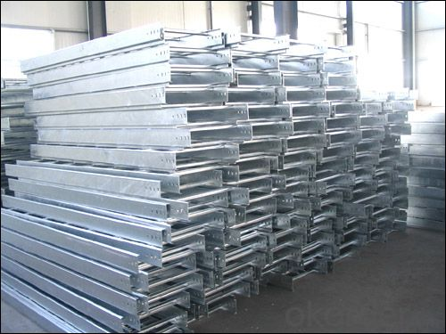 Hot dipping galvanized cable tray