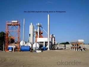 Productivity  80T/H Asphalt mixing plant