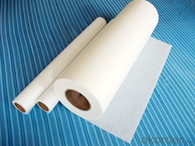 Polyester Cloth For Inner Lining Process On FRP Pipe