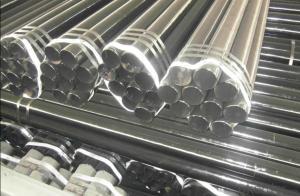 Black Carbon Steel Seamless Pipe