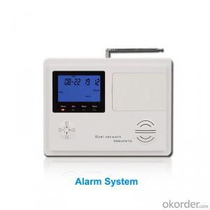 GSM+PSTN Home/Office Alarm System With 4 Wired and 99 Wireless Defence Zone