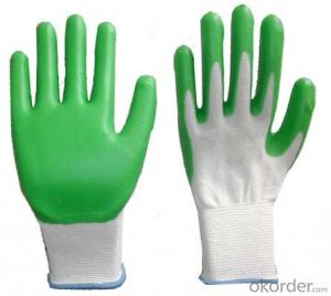 working safety hand gloves with cotton yarn
