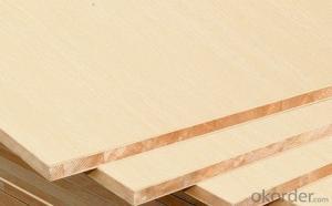 Oak Real Wood Veneer Face block Board Falcata Core