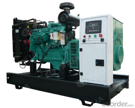 Cummins 20-300KW Open Type Diesel Generator Set