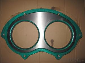 SANY Spectacle Plate and Wear Ring  DN230