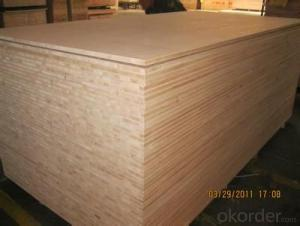 Sapele Veneer Face block Board Falcata Core