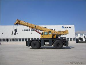 Rough terrain crane QRY75