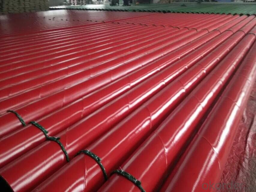 seamless and welded 2PE steel pipe external coating
