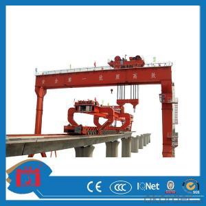 MG type double girder truss structure crane