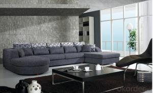Newest Design Luxurious Fabric Sofa Set
