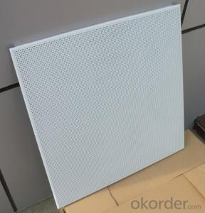 Factory supply decorative aluminum ceiling tiles