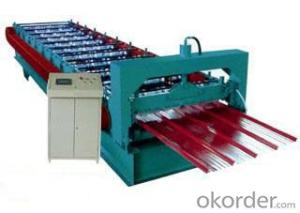 Hydraulic plate rolling machine