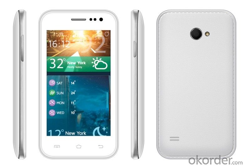 Dual- Core 4.0'  Android Smart Phone with IPS LCD Screen