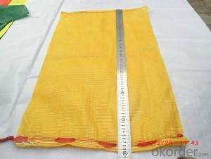 Raschel Mesh Bag  for fruit and vegetable tape