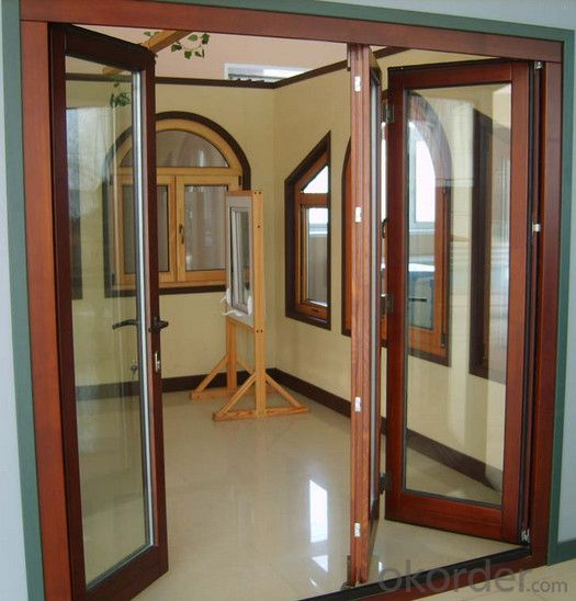 aluminum material  doors and windows