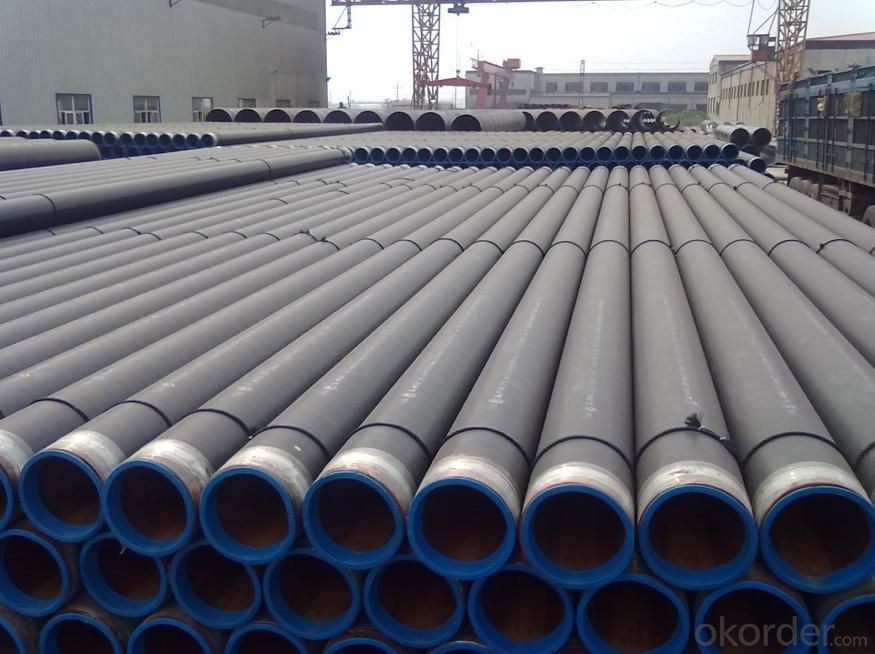 API 5L X52 3PE COATED STEEL PIPE