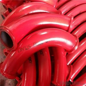 Concrete Pump Bend Pipe For Concrete Pump