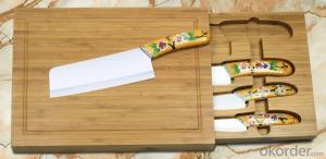 simple ceramic knife set