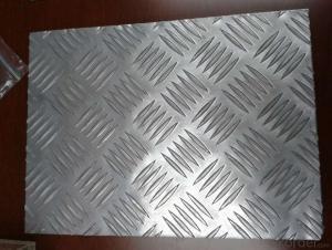 AL sheet five bars