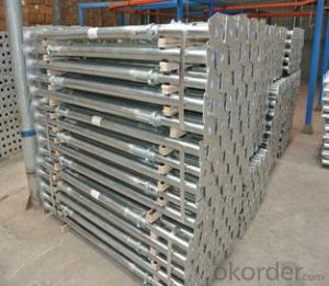 Q345 Q235 Adjustable scaffolding steel props