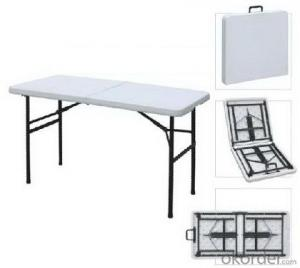 light aluminium folding table