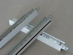 Metal Suspended Ceiling Main Tee And Cross Tee