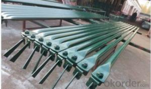 Steel Kwikstage Scaffold Diagonal Braces