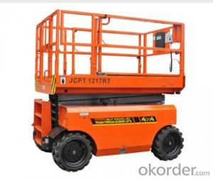 Self-Propelled Rough-Terrain Scissor Lifts