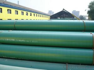 Coated 3PE Steel Tube