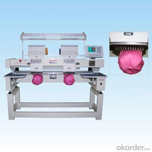 SINGLE/DOUBLE HEAD COMPUTERIZED TUBULAR EMBROIDERY MACHINE